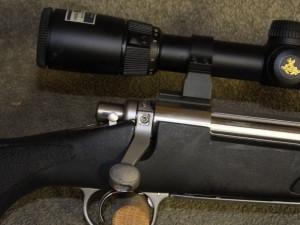 Remington bolt handle Lightened and secured